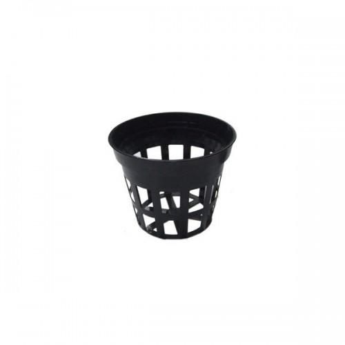 Pot panier rigide noir Ø 75mm