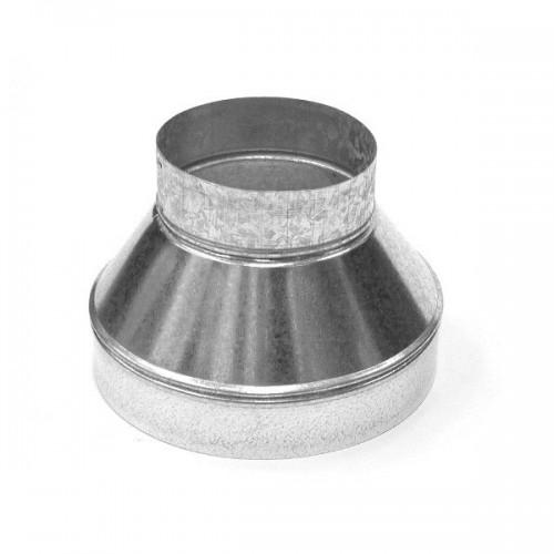 Réduction de ventilation métal Ø 125/100 mm