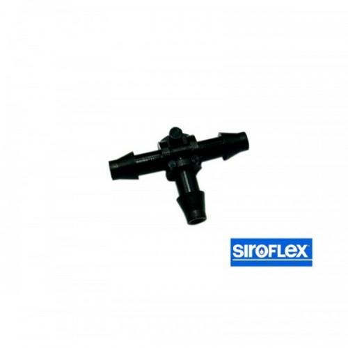 DERIVATION T pour tuyau capillaire 4/6mm Siroflex