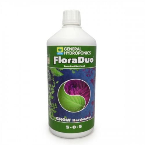 FloraDuo Grow eau dure