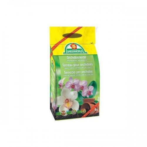 Terreau Orchidee green world