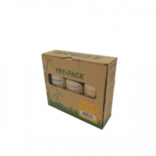 TRY-PACK INDOOR 250ml - BIOBIZZ
