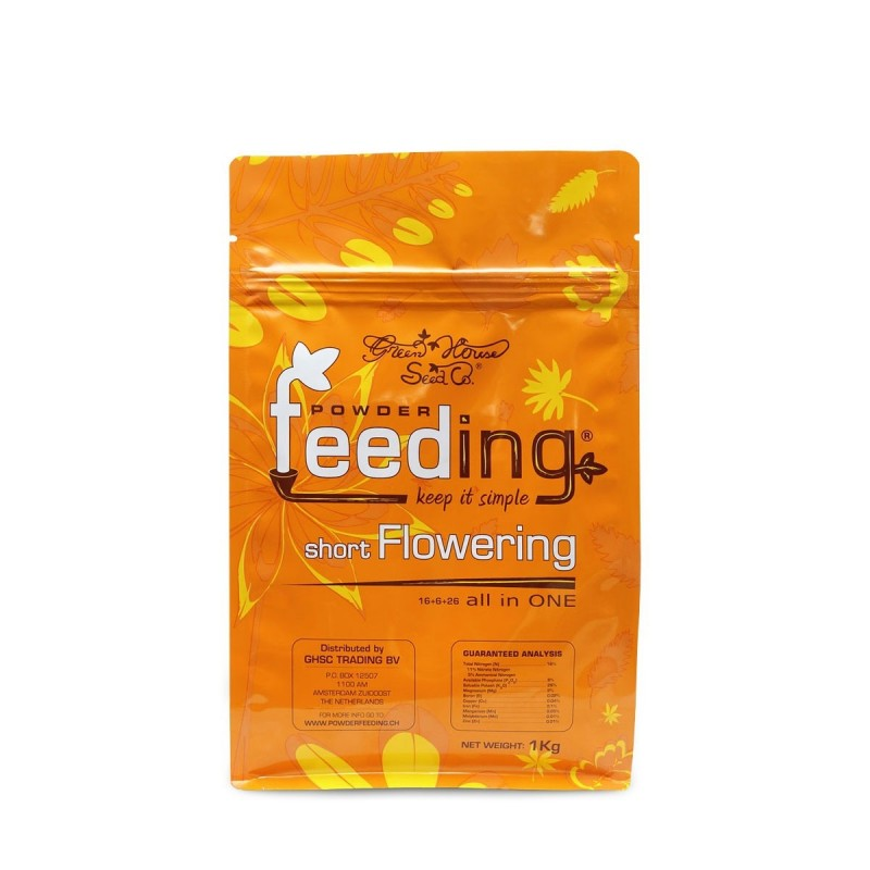 Powder Feeding SHORT Flowering 1kg - Green House