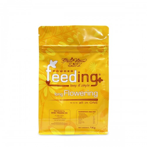 Powder Feeding LONG Flowering 1kg - Green House