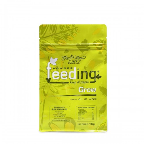 Powder Feeding GROW 1kg - Green House