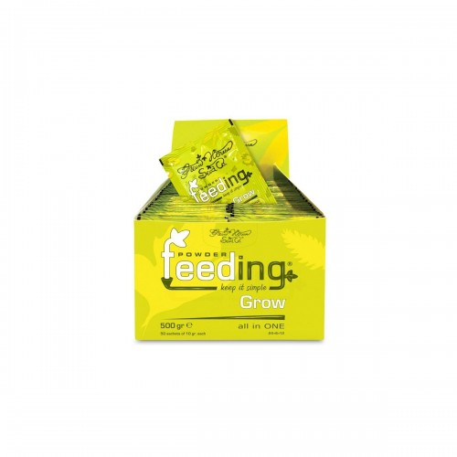 Powder Feeding GROW sachet 10gr - Green House