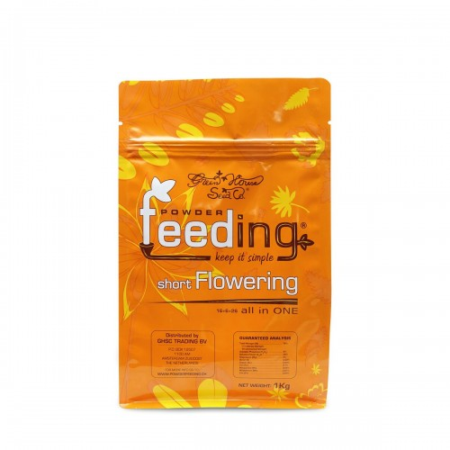 Powder Feeding SHORT Flowering 125gr - Green House