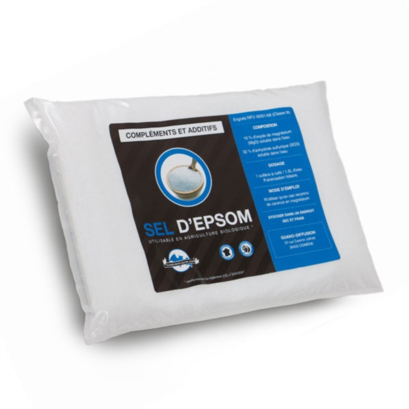 SEL D'EPSOM UAB 1kg - Guano Diffusion