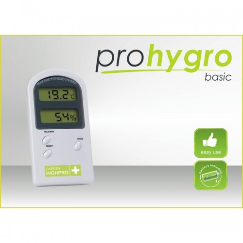 Thermo-hygromètre  BASIC - GARDEN HIGHPRO