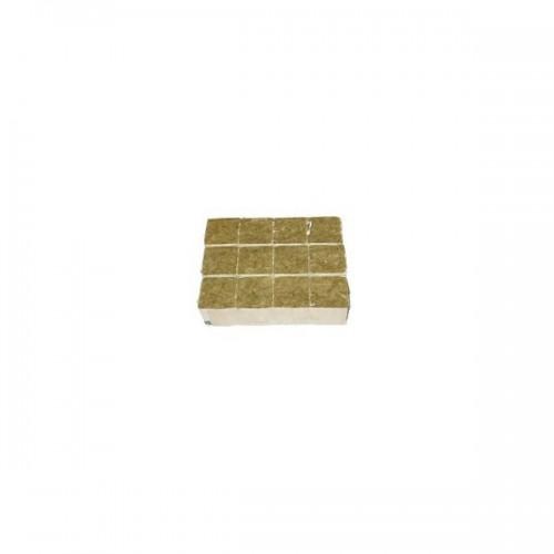 Cube de laine de roche 4cm - GRODAN