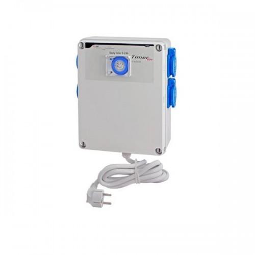 TIMER BOX 4 X 600W avec prise chauffage - GSE