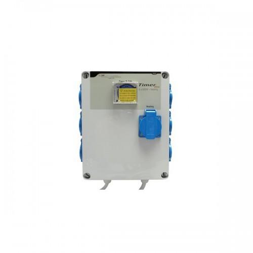 TIMER BOX 6 X 600W avec prise chauffage - GSE